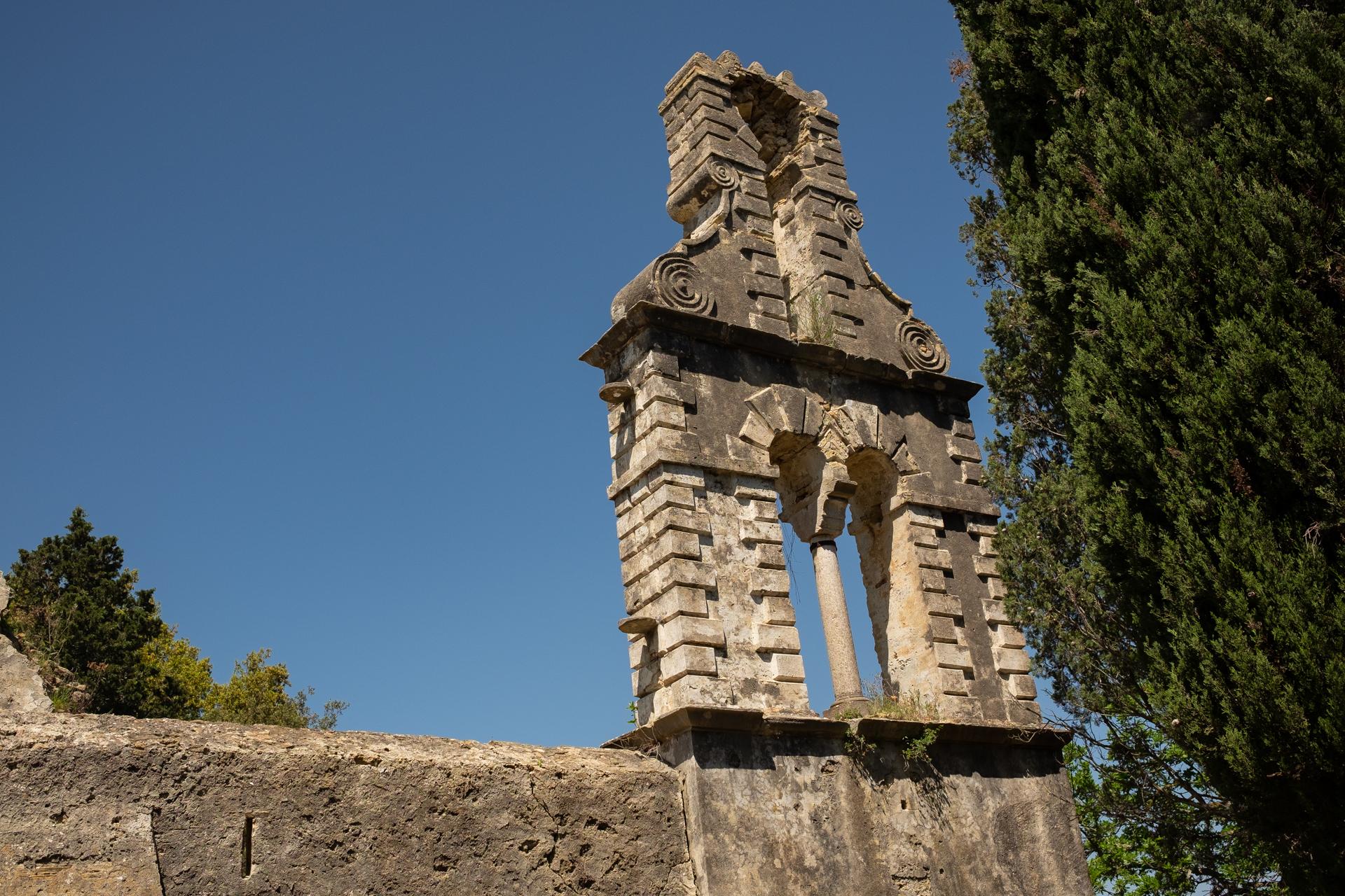 Ruiny Monastyru Najświętszej Maryi Panny na Asprokavos