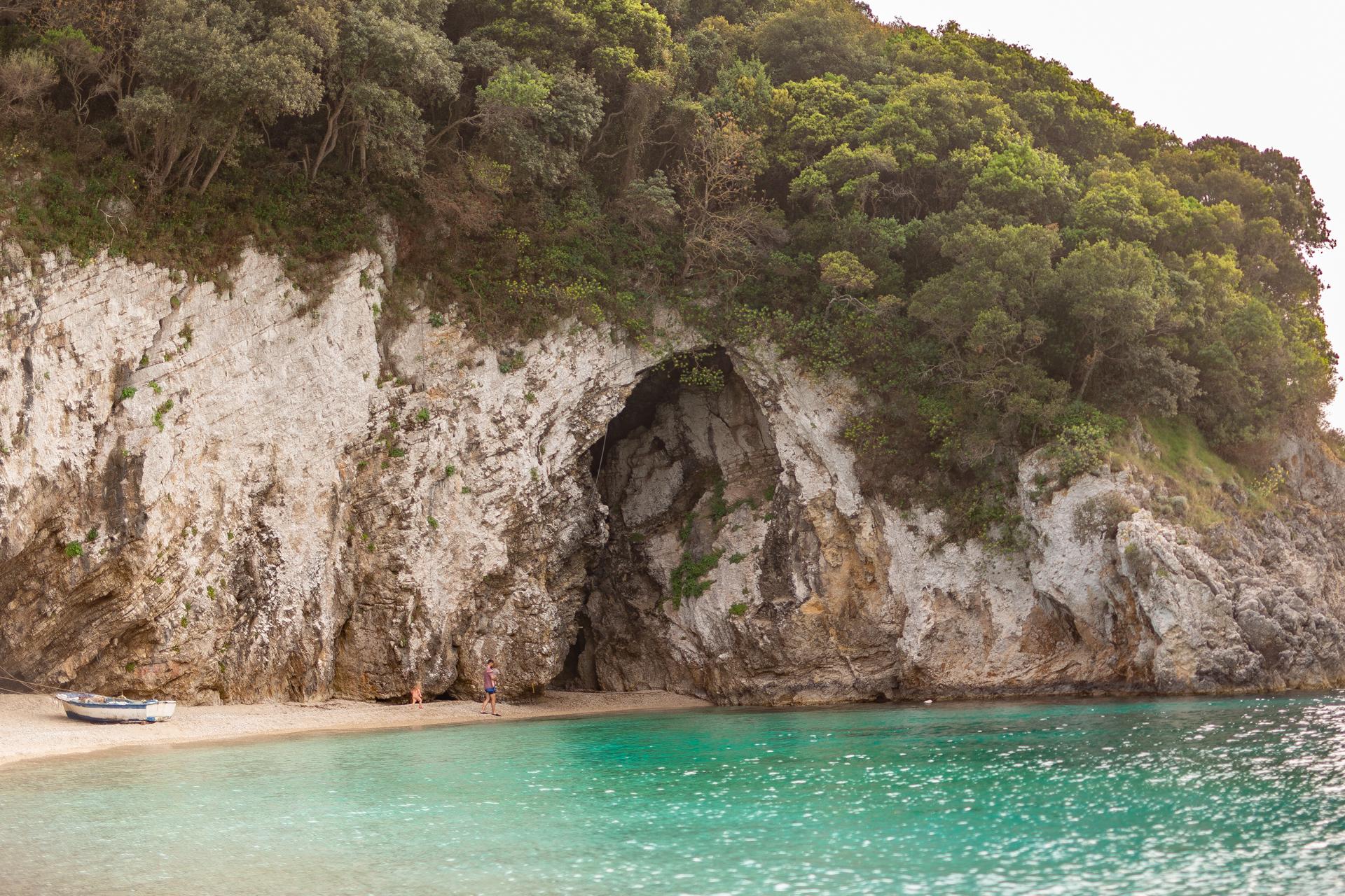 Rovinia Beach Korfu